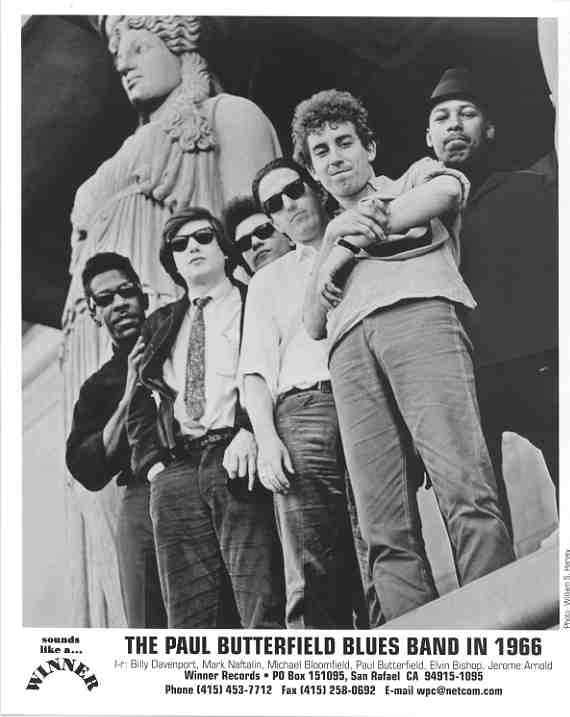 The Paul Butterfield Blues Band - Videos and Albums - VinylWorld