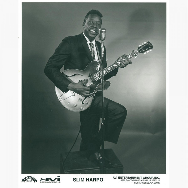 Slim Harpo - Videos and Albums - VinylWorld