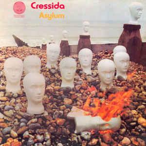 Cressida (3) - Asylum - Album Cover