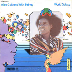 Alice Coltrane With Strings - World Galaxy - Album Cover
