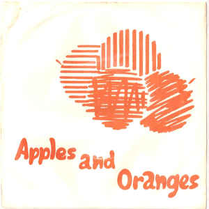 Pink Floyd - Apples And Oranges - Album Cover