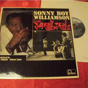 Sonny Boy Williamson (2) - Sonny Boy Williamson & The Yardbirds - Album Cover