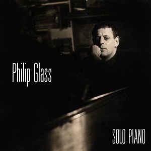 Philip Glass - Solo Piano - Album Cover