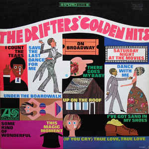 The Drifters - The Drifters' Golden Hits - Album Cover