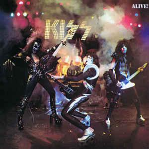 Kiss - Alive! - Album Cover