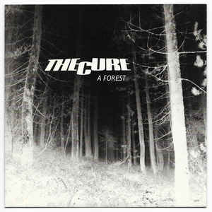 The Cure - A Forest - Album Cover