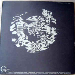 Gruppo D'improvvisazione Nuova Consonanza - Album Cover - VinylWorld