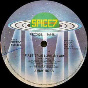 Jimmy Ross - First True Love Affair - VinylWorld