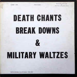 Death Chants, Break Downs & Military Waltzes - Album Cover - VinylWorld