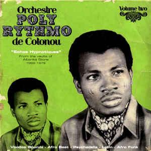 """T.P. Orchestre Poly-Rythmo - """"Echos Hypnotiques"""" - Album Cover"""