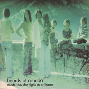 Boards Of Canada - Music Has The Right To Children - Album Cover