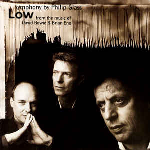 "Philip Glass - ""Low"" Symphony - Album Cover"