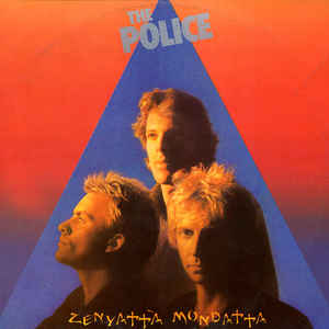 The Police - Zenyatta Mondatta - Album Cover