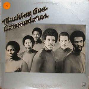 Commodores - Machine Gun - Album Cover