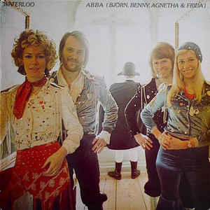 ABBA - Waterloo - Album Cover