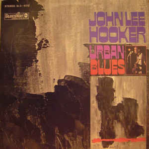 John Lee Hooker - Urban Blues - Album Cover