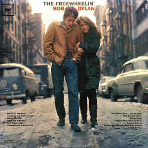 The Freewheelin' Bob Dylan - Album Cover - VinylWorld