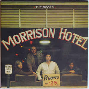 The Doors - Morrison Hotel - Album Cover