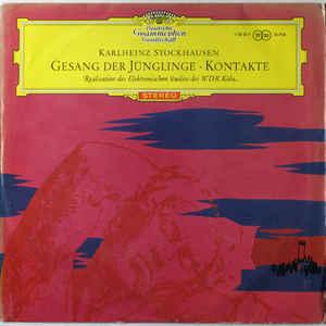 Gesang Der Jünglinge - Kontakte - Album Cover - VinylWorld