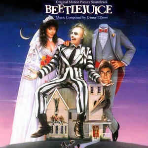 Danny Elfman - Beetlejuice (Original Motion Picture Soundtrack) - Album Cover