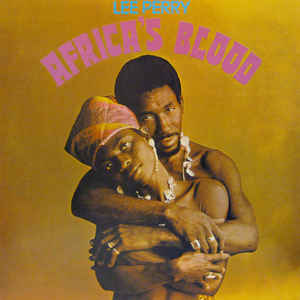 Lee Perry - Africa's Blood - Album Cover