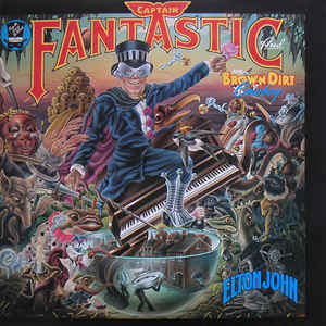 Elton John - Captain Fantastic And The Brown Dirt Cowboy - Album Cover