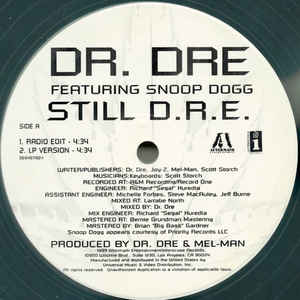 Dr. Dre - Still D.R.E. - Album Cover