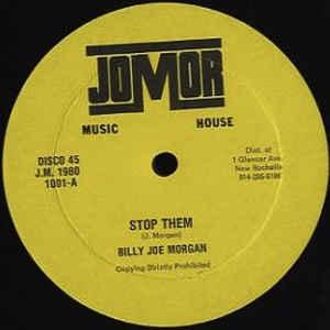 Billy Joe Morgan - Stop Them - Album Cover