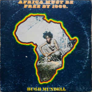 Hugh Mundell - Africa Must Be Free By 1983. - Album Cover