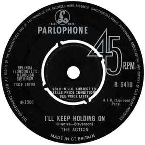 The Action - I'll Keep Holding On - Album Cover