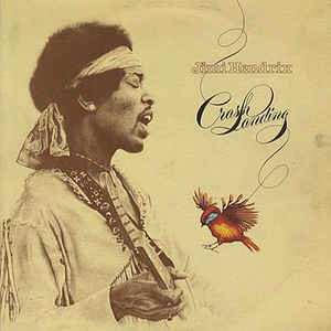 Jimi Hendrix - Crash Landing - Album Cover