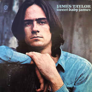 James Taylor (2) - Sweet Baby James - Album Cover