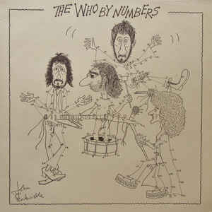 The Who - The Who By Numbers - Album Cover