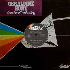 Geraldine Hunt - Can't Fake The Feeling - Album Cover