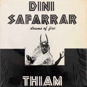 Mor Thiam - Dini Safarrar (Drums Of Fire) - Album Cover