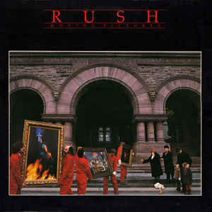 Rush - Moving Pictures - Album Cover