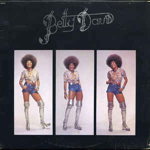 Betty Davis - Betty Davis - Album Cover