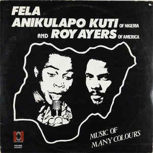 Fela Kuti - Music Of Many Colours - Album Cover