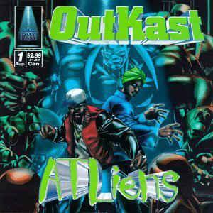 OutKast - ATLiens - Album Cover