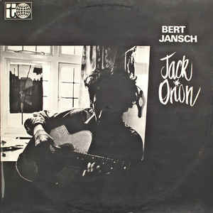 Bert Jansch - Jack Orion - Album Cover
