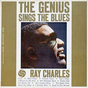 Ray Charles - The Genius Sings The Blues - Album Cover