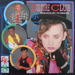 Culture Club - Colour By Numbers - Album Cover