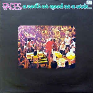 Faces (3) - A Nod's As Good As A Wink...To A Blind Horse - Album Cover