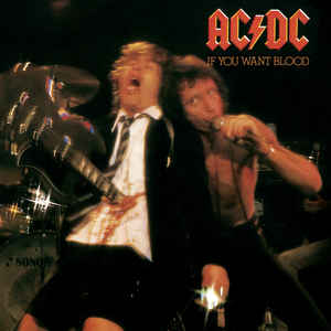 AC/DC - If You Want Blood You've Got It - Album Cover
