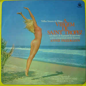 A Virgem De Saint Tropez - Album Cover - VinylWorld