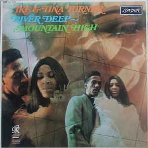 Ike & Tina Turner - River Deep - Mountain High - Album Cover