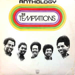 The Temptations - Anthology - Album Cover
