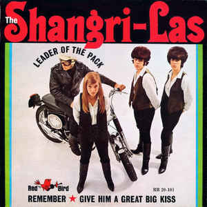 The Shangri-Las - Leader Of The Pack - Album Cover