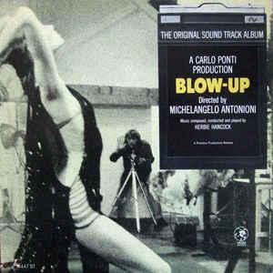 Herbie Hancock - Blow-Up (The Original Sound Track Album) - Album Cover