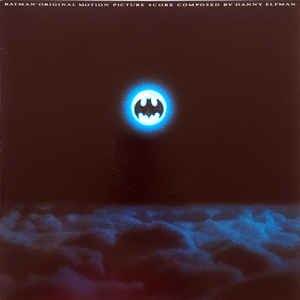 Danny Elfman - Batman (Original Motion Picture Score) - Album Cover